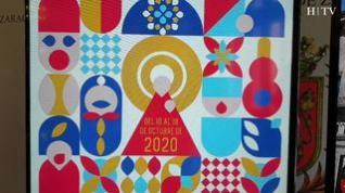 Pilares geométrico, el cartel ganador de las Fiestas del Pilar 2020
