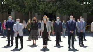 Minuto de silencio en Delegación de Gobierno