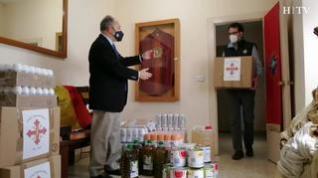 Cáritas Castrense de Aragón da sus primeros pasos en plena pandemia