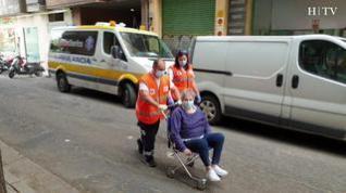 Carmela sale del Hospital Miguel Servet tras tres meses afectada por el coronavirus