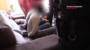 Operación conjunta de Guardia Civil y Mossos d'Esquadra