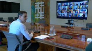 Última videoconferencia con los presidentes autonómicos en estado de alarma