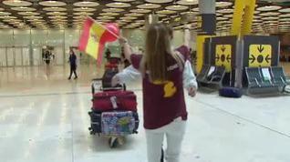 Barajas estrena la apertura de fronteras con la UE con 76 vuelos