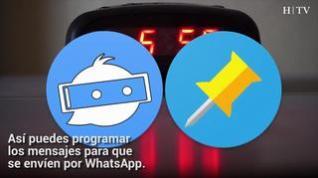¿Quieres programar mensajes de WhatsApp para que se envíen solos?