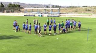 El Real Zaragoza vuelve a los entrenamientos tras su derrota contra la SD Huesca