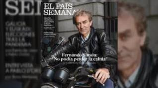 Fernando Simón, icono de revistas, murales y camisetas