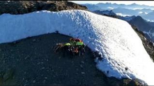 Rescate de tres montañeros navarros en el pico Balaitous, en Sallent de Gállego