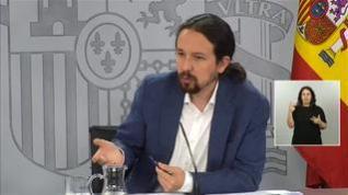 """Iglesias: """"En una democracia todos los poderes son objeto de crítica, el poder mediático también"""""""