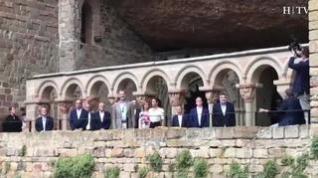 Los Reyes de España ya están en San Juan de la Peña