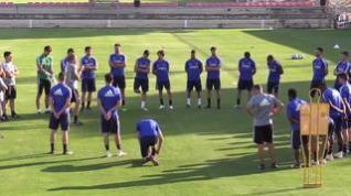 Tras el empate con el Tenerife, toca volver a los entrenamientos