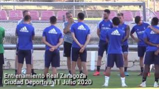 Entrenamiento del Real Zaragoza: No hay margen para más tropiezos