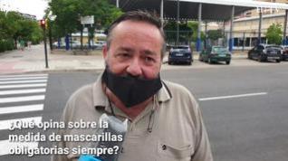 El Gobierno de Aragón aprueba el uso obligatorio de mascarillas en la Comunidad