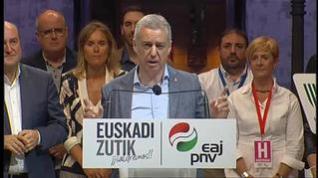 Urkullu gana las elecciones vascas con tres escaños más que en 2016