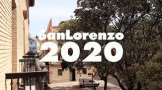 Estas fiestas de San Lorenzo ... se celebran en casa