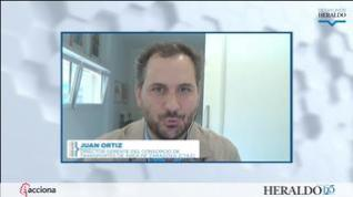 """Juan Ortiz: """"El futuro de la movilidad de Zaragoza debe ser metropolitano, dado que uno de cada tres desplazamientos se hacen entre los municipios"""""""