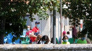 Campamento de Salduero (Soria) donde se ha registrado el brote