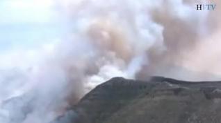 Incendio entre María de Huerva y Cadrete