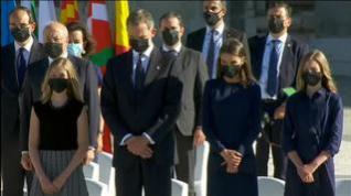"""Felipe VI: """"Hoy es un día que conservaremos en nuestra memoria"""""""