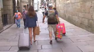 Los aragoneses que viajen a Galicia deberán registrarse al llegar