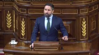 Abascal anuncia que Vox presentará una moción de censura contra Sánchez en septiembre