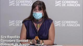 Aragón registra 431 positivos en las últimas horas, 62 de ellos en un centro de Burbáguena