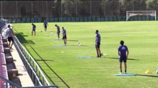 El Real Zaragoza arranca agosto con nuevos entrenamientos