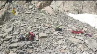 La Guardia Civil de Montaña rescata el cuerpo sin vida de un deportista en Benasque