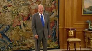 Juan Carlos I comunica al Rey Felipe VI su intención de abandonar España