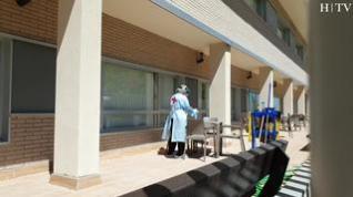 La residencia de Valdespartera ya atiende a cuatro personas con síntomas leves