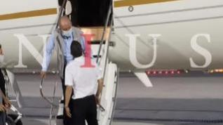 La foto que confirma a Abu Dabi como destino de Juan Carlos I