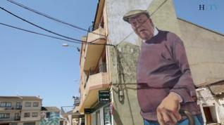 Una galería de arte vivo en las calles de Alfamén
