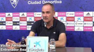 Víctor Fernández escribe con sangre los agravios de La Liga al Real Zaragoza