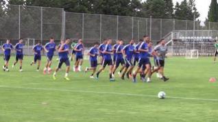 El Real Zaragoza continúa preparando los 'play off'
