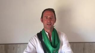 """San Lorenzo está orgulloso"", la jota de Roberto Ciria en las 'no fiestas de Huesca'"