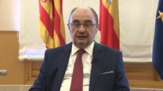 "Lambán: ""En Zaragoza se ha producido una especie de tormenta perfecta"""