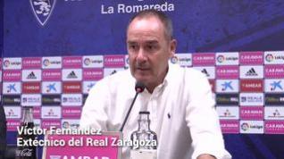 """Víctor Fernández: """"Sin la pandemia, el Real Zaragoza hace muchas semanas que estaría en Primera División"""