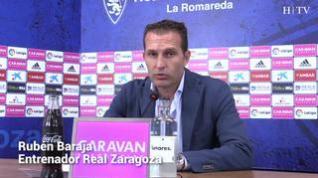 """Rubén Baraja: """"El Zaragoza se tiene que levantar"""""""