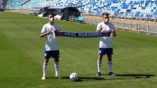 Chavarría y Bermejo ya visten la camiseta del Real Zaragoza