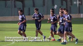 Baraja toma velocidad en la aplicación de su doctrina táctica en el Real Zaragoza