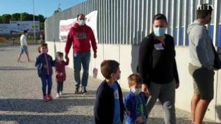 Los padres del CEIP María Zambrano se movilizan mientras los barracones siguen sin acabarse