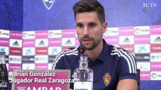 """Adrián González: """"Una de las cosas por las que he venido es por el entrenador"""""""