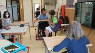 Desinfección de zapatos y gel hidoralcohólico: Así comienza el curso el CEE Jean Piaget de Zaragoza