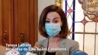 """Teresa Ladrero, alcaldesa de Ejea: """"Pido que no se criminalice a la sociedad ejeana"""""""