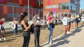 Los alumnos de 2º de la ESO del CPI Rosales del Canal no pueden empezar las clases por falta de espacio