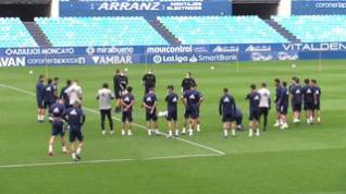 El Real Zaragoza entrena este viernes en La Romareda