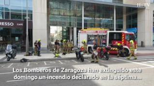"""""""El incendio se ha iniciado en un taller para reparar equipos de la empresa Libelium"""""""