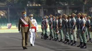 El Rey asiste a la celebración del centenario de la Legión