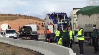 Un fallecido en un accidente en Mallén, en la provincia de Zaragoza
