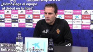 """Rubén Baraja: """"Cuento con el 'Toro' Fernández para el partido contra Las Palmas"""""""