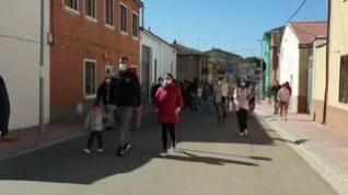 Los vecinos de Nuez de Ebro salen a la calle para exigir soluciones contra la okupación